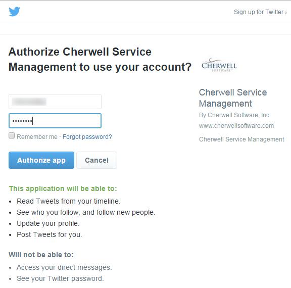 Create a CSM Twitter Account