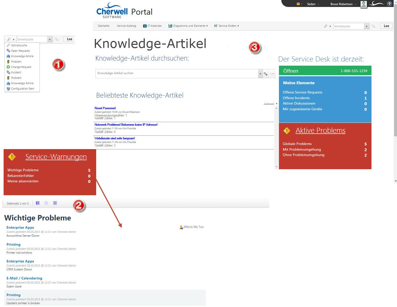 Info zur Portal-Suche