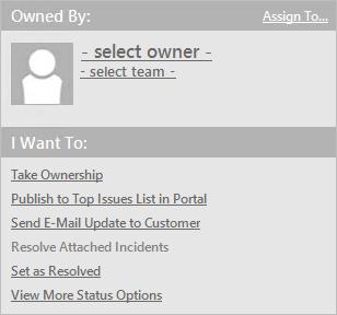 Log a Problem - Detailed