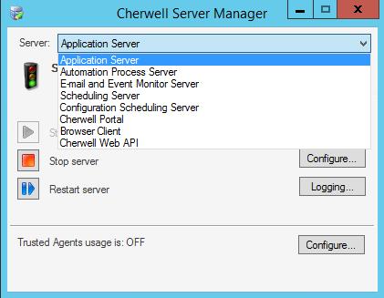 Configure the Application Server