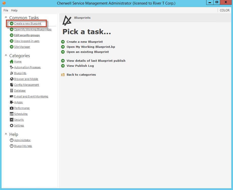 Blueprint editor blueprint page create new task malvernweather Images