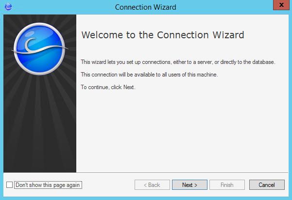 Configure the Server Connection