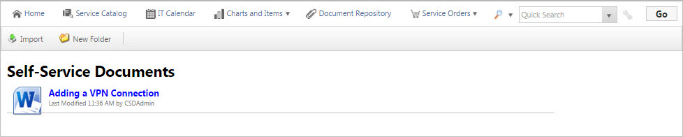 About Document Repositories
