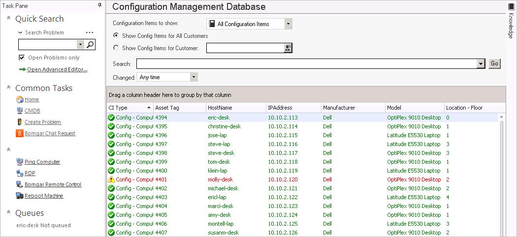 about the configuration management database  cmdb