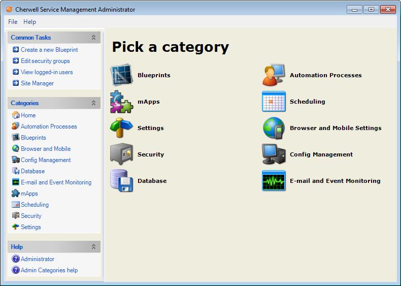 About csm administrator csm administrator main window malvernweather Images