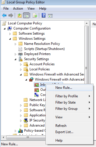 Set Up a Group Policy to Allow WMI on Your Domain