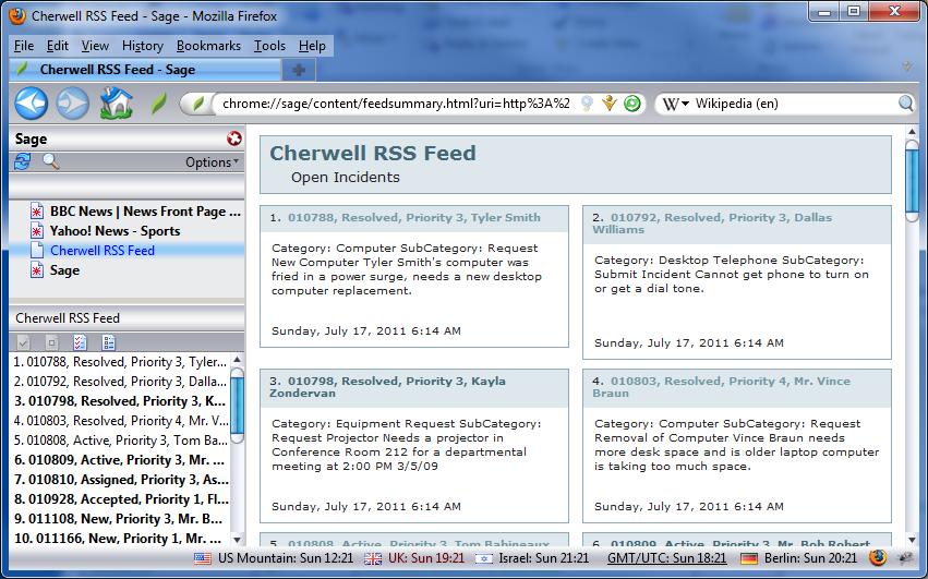 free cherwell training